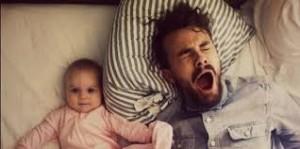 תינוק לא ישן