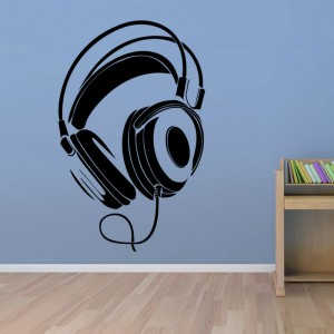 Music-font-b-DJ-b-font-Headphones-Wall-Stickers-Boys-Room-Wall-Decor-font-b-Vinyl