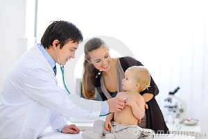 baby-being-checked-doctor-using-stethoscope-22528574