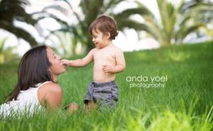 צילומי משפחה בטבע, אנדה יואל